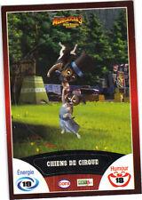 Vignette de collection autocollante CORA Madagascar 3 n° 45/90 -Chiens de Cirque