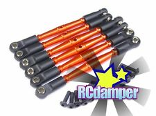GPM ALUMINUM TIE ROD TURNBUCKLE 6PCS OR HPI 1/10 E-FIRESTORM FLUX RTR 10T