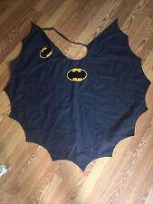 Vintage handmade Batman cape costume high quality thick material