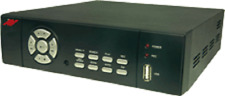 4 Channel Analog H.264 Dvr with 500G Hard drive
