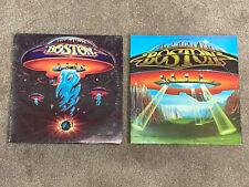 Boston Lp vinyl record albums Boston, Don'T Look Back — tested Vg+/Vg