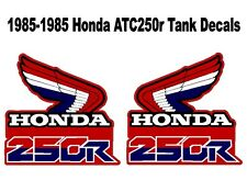 Tank Decals for 1986 Honda ATC250r three wheeler -  atc 250r