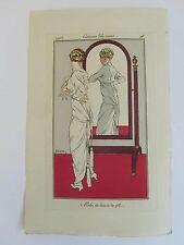 Journal Dames Modes n° 42, planche 98 par Drian    20/07/1913 complet  numéroté