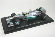 1 43 Spark Mercedes AMG W03 Winner GP China Rosberg 2012