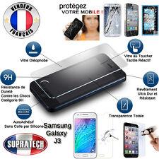 Protection d'Ecran en Verre Trempé Contre les Chocs pour Samsung Galaxy J3