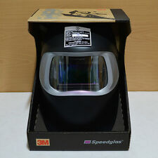 New 3M Speedglas 100 Black Auto Darkening Filter 100V Welding Helmet