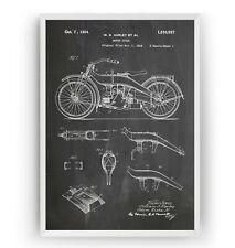 AC477 Poster Print Art A0 A1 A2 A3 HARLEY DAVIDSON VRSCAW V ROD BIKE POSTER