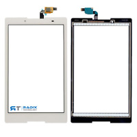 """Lenovo Tab 3 8 TB3-850F TB3-850 8"""" inch White Touch Screen Digitizer Front Glass"""