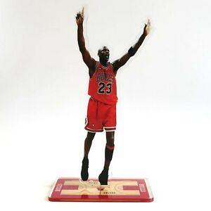 Michael Jordan Standing Figure - Jordan Raises His Hands Signal 6th Championship