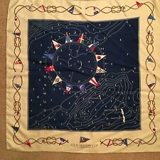 LOUIS VUITTON SILK SCARF-LOUIS VUITTON CUP CHALLENER RACES FOR AMERICA'S CUP