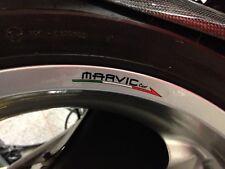 Marvic Wheel Rim Stickers x 4 Front And Rear MV Agusta Ducati Aprilia Bimota