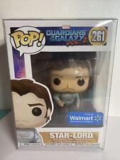 Funko Pop Star Lord #261 GearShirt Guardians of The Galaxy WalmartExclusive Mint