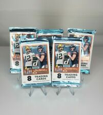 Lot of 5 Panini Donruss Football NFL Blister Packs 8 cards each 40 cards total