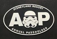 Disney Disneyland AP Annual Passholder Decal - Star Wars Stormtrooper