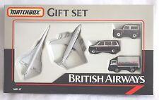 Rare Vintage Matchbox British Airways CONCORDE Model Set MC17 1-75