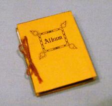 Dollhouse Miniature Photo Album w/ Ten Pages of Photos - Cute & Very Unique!