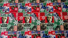Star Wars Gift Wrap Wrapping Paper (45 sq. ft) Droids R2-D2 and C3PO NEW!