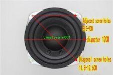 "1pcs 5""inch 4ohm 30~50W 120mm car subwoofer Audio bass Speaker Loudspeaker 4Ω"