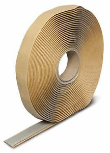 Grey Extruded Butyl Seal Tacky Tape Camper Travel Trailer RV Mobile Home