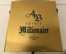 New AB Spirit Millionaire Lomani Paris Perfume And Deodorant For Man FREE SHIP.