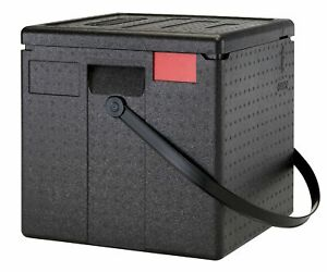 Food Delivery Box with Vents & Handle Thermo Pizza Deliveries EPP Hot Boxes LRG