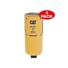 3 Pack Caterpillar 2568753 256-8753 FUEL WATER SEPARATOR High Efficiency