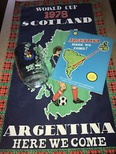 More details for scotland world cup 1978 t towel pint glass programme