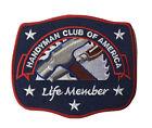 Handyman Club Of America Life Member Hammer  Chisel Tool Carpenter Patch NEW!