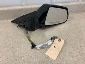 2009 2015 Cadillac CTS-V CTS Passenger Side Mirror OEM GM Black RH Used