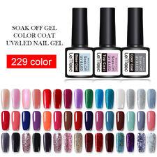 LEMOOC 8ml Esmalte de Uñas UV Gel Nail Art UV Gel Polish Soak off Manicura Gel
