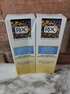 2- Roc Retinol Correxion Sensitive Skin Eye Cream- 5 Oz Each
