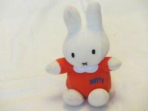 "Miffy the rabbit, sits 5.5"", machine washable, good condition"