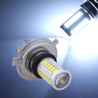 6500K Bright H4 33-LED SMD White Car Auto Fog Light Headlight Driving Lamp Bulb
