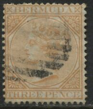 Bermuda QV 1873 3d buff used