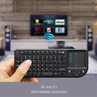 Rii X1 Israel Hebrew Wireless Mini Keyboard with Touchpad for PC Smart TV PS3