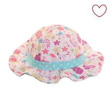 Girls Flower Bucket Hat Kids Hot Cute Childrens Sun Beach Holiday
