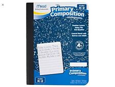 Mead Primary Composition Notebook Grades K-2, Wide Ruled Paper, 100 Lot Of 2