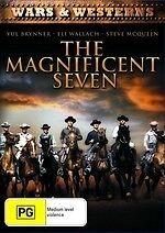 The Magnificent Seven NEW DVD Steve McQueen Charles Bronson (Region 4 Australia)