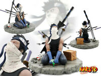 New Japan Anime Naruto Fog Shadow Demons Momochi Zabuza GK PVC Figure 15cm NoBox