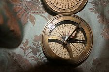 ANTIQUE CAPTAIN NEMO SHIP'S NAUTICAL COMPASS WITH SUN DIAL  Looks Like He Forgot