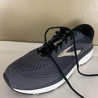 Brooks Mens Dyad 10 Size 14 Medium D Gray Running Walking Shoes *Mint*