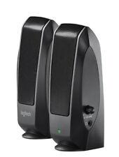 Altavoces Logitech Speakers S120 negros parleurs Altoparlanti Lautsprecher