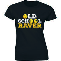 Old School Raver Clubbing Retro Dance Festival Acid House T-shirt For Women