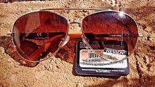 New Designer Women's Revlon Sport Gold 13 Classic Fashion Aviator Sunglasses