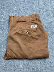 Avirex Pants Mens 38 Chinos Classic Fit Straight Leg Mid Rise 38 x 27 Adult Rust