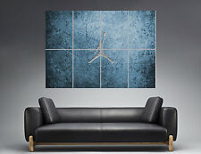 Michael Jordan Logo Basket Mural Wall Art Poster Grand Format A0 Large Print Part 84
