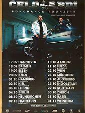 CELO & ABDI 2015 TOUR    -  orig.Concert Poster  --  Konzert Plakat   NEU