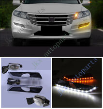 LED DRL+Fog Light Lamp Cover Kit For Honda Accord Crosstour 10-11 Crosstour 2012
