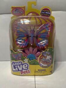 "DREAMSHINE Butterfly🧸Little Live Pets""Flutters Like A Real Butterfly"" Pink⭐️"