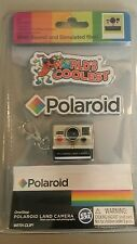 Worlds Smallest Polaroid With Sound & Simulated Film Camera Keychain